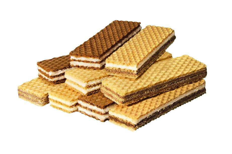 SLIM wafers with coco milk halvah cream