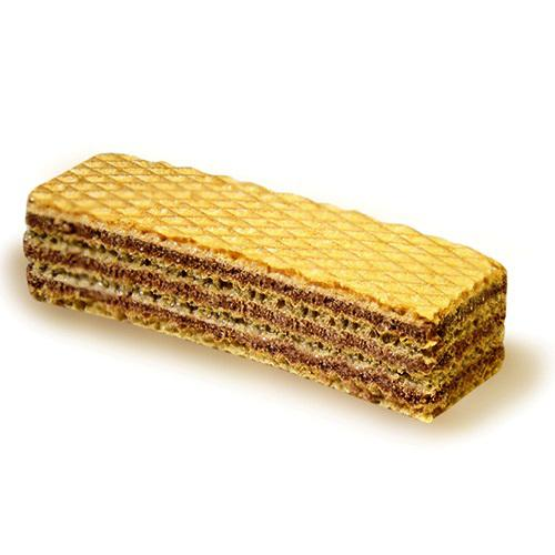 Wafers with cocoa