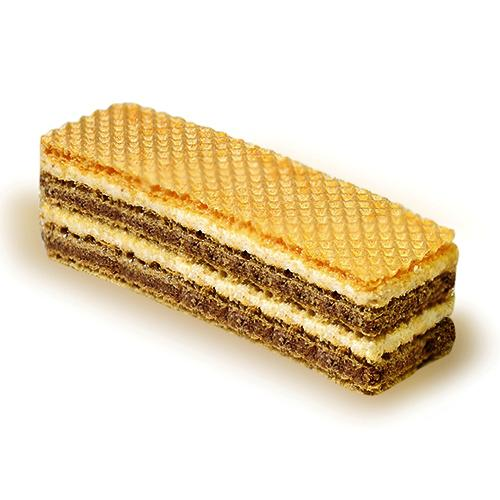 Wafers with cocoa & milk - Zebra
